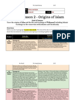 unit 1  lesson 2 - 7th grade - origins of islam - eitan