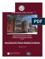 Easthampton School Building Committee Preferred Schematic Report MSBA