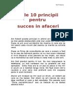 250633131 10 Principii Pentru Succes in Afaceri
