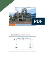 3. Tutorial II Steel Portal Frame