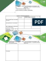 Anexo Actividad Paso 2. Cuadro Para Resolución de Conflictos Ambientales.