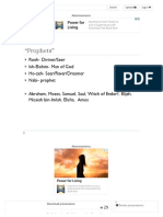 """Prophets"" Roeh- Diviner_Seer Ish-Elohim- Man of God - Ppt Download"