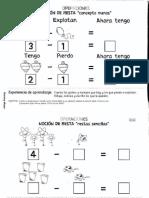 pensamiento matematico 1 2 3 y 4