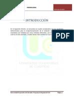 Informe Hidrologia (evapotranspiracion)