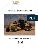Manual Estudiante Motoniveladora Cat 24m Corregido