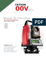 Manual Estação Total Pentax Serie 400
