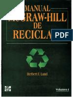 Manual McGraw-Hill de Reciclaje Volumen 1
