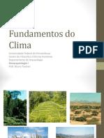 Fundamentos Do Clima