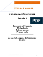 Programación General Islands 1 Castilla La Mancha