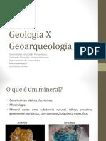 Geologia e Geoarqueologia