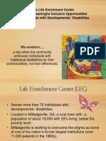 LEC Ed and Awareness Presentation