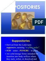 C-12 Suppositories and Inserts