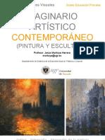 3. IMAGINARIO ARTÍSTICO CONTEMPORÁNEO (PINTURA Y ESCULTURA)
