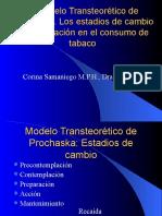 El Modelo Transteorético de Prochaska