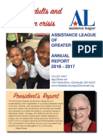 Assistance League Of Greater Cincinnati annual report