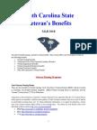 Vet State Benefits & Discounts - SC 2018
