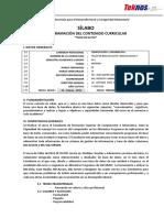 2013 Silabo Bbdditeknos Ci-IV If2013am