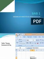 BAB 1 Identitas Perusahaan