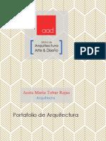 Portafolio de Arquitectura_Anita Tobar