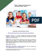 PFED - Educação Infantil