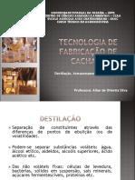 Tecnologia de Fabricação de Cachaça Aula 3