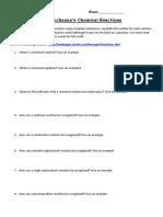 chemical reactions webquest 3