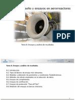 Aerorreactores Master - Tema 8 - Ensayos y Análisis de Resultados - V1