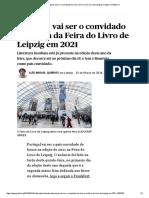 Livros _ Portugal Vai Ser o Convidado de Honra Da Feira Do Livro de Leipzig Em 2021 _ PÚBLICO