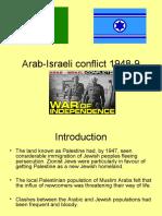 Arab-Israeli Conflict 1948