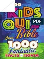 NIV Kids' Quiz Bible sampler