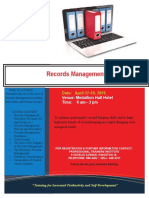 Flyer - Records Management [April2018 Outline]