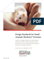 Small Animal (Rodent) Vivarium Design Standards(1)