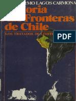 LAGOS, Guillermo, Historia de Las Fronteras de Chile