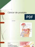 cancer de prostata presentacion