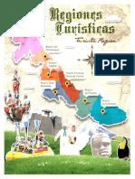 Mapa Veracruz Coloreado 7 Regiones