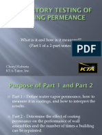 Laboratory Testing of Coating Permeance-KAT1