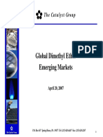 Global Dimethyl Ether Emerging Markets - DME