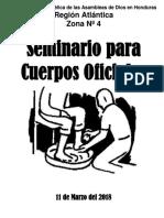 Seminario Cuerpo Oficial