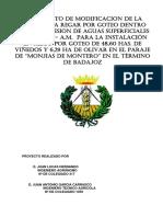 20160315 Evaluacion Ambiental Simplificada Riego Por Goteo Viñedo Balsa de Badajoz