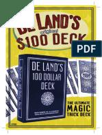 De Land's Original $100 Deck.pdf