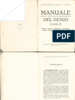 Manuale Del Genio (Vol. III - 1936) - estratto
