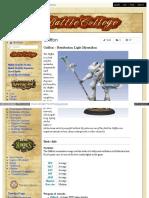 Battlecollege - Griffon – Retribution Light Myrmidon 1