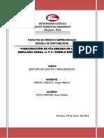 """Díaz Coronel, Rosa- """"Construcción de Vía Urbana en La Calle Orellana Cdras. 10 y 11- Pueblo Nuevo-jaén"""""""