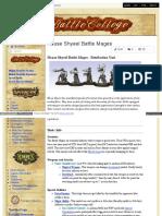 Battlecollege - House Shyeel Battle Mages - Retribution Unit