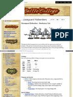 Battlecollege - Houseguard Halberdiers - Retribution Unit