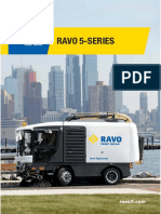 Street Cleaning Machine Ravo 5