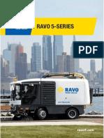 Street Cleaning Machine Ravo 5