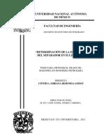 Tesis Determinacion de La Eficiencia Del Separador en Flujo Bache