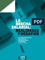 la brecha salarial en España
