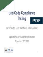 Grid Code Testing